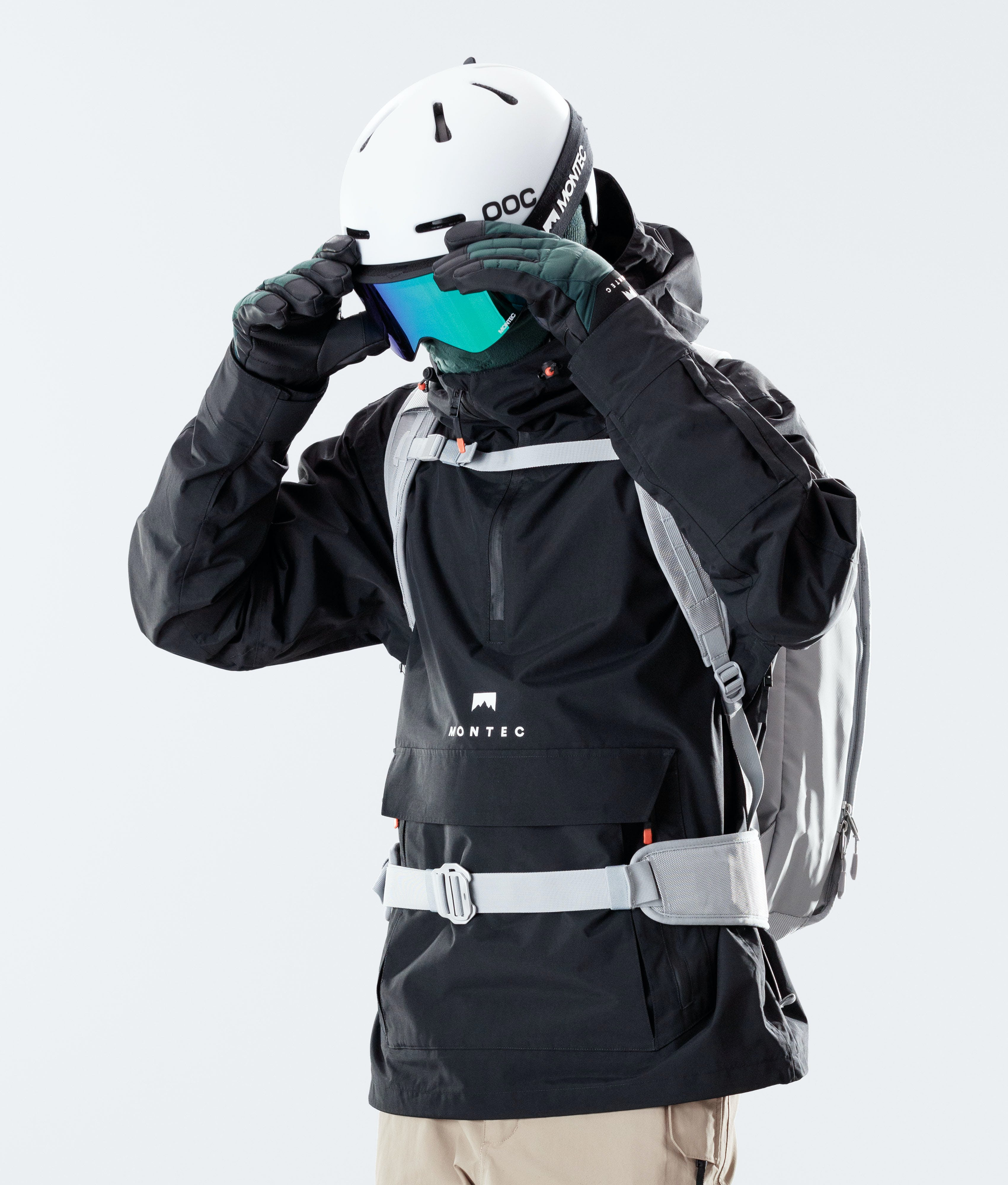 ski goggle fit and sizing