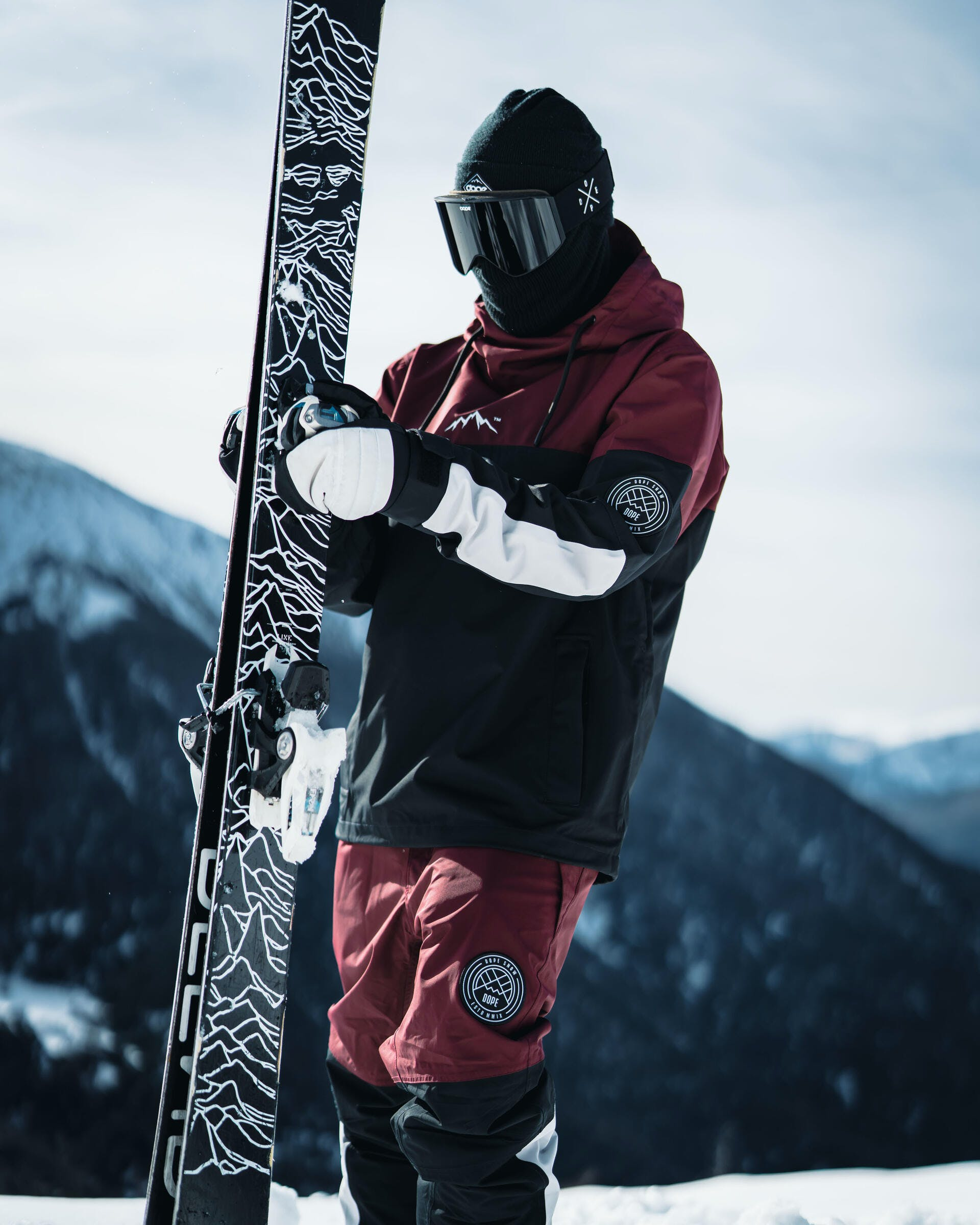 types of ski gloves