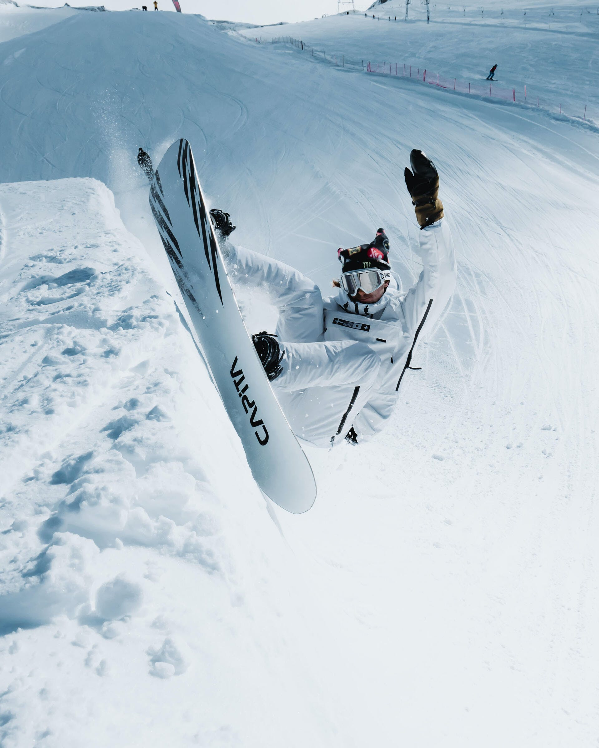 Snowboard jackets and waterproofing