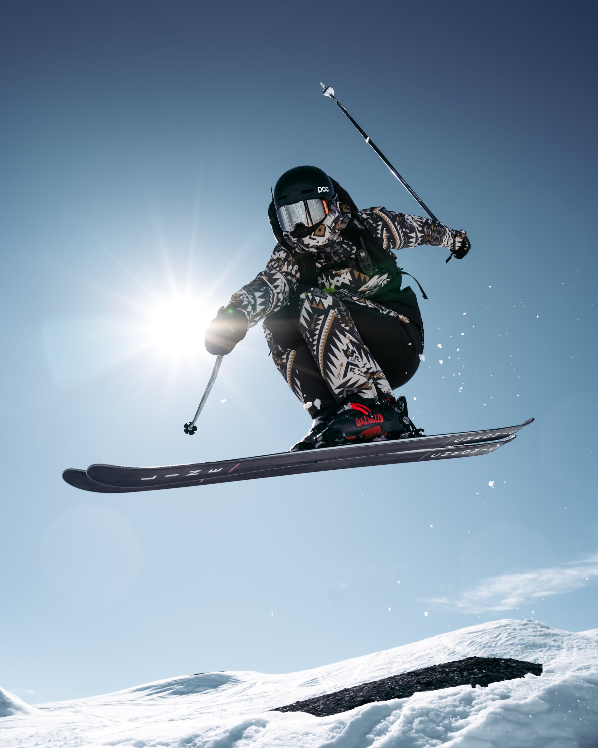 How to transition to forward skiing