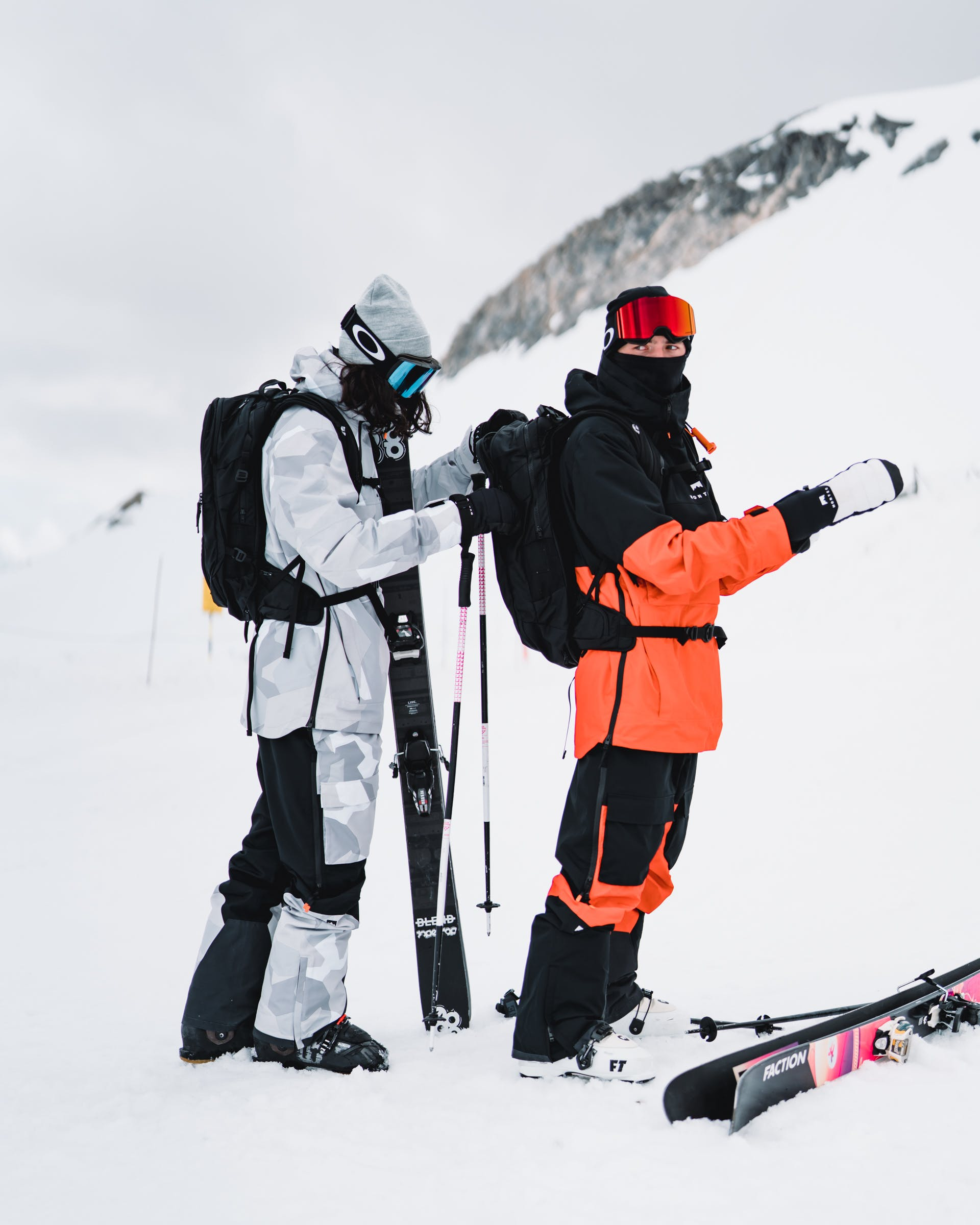 fixing your ski clothes at home