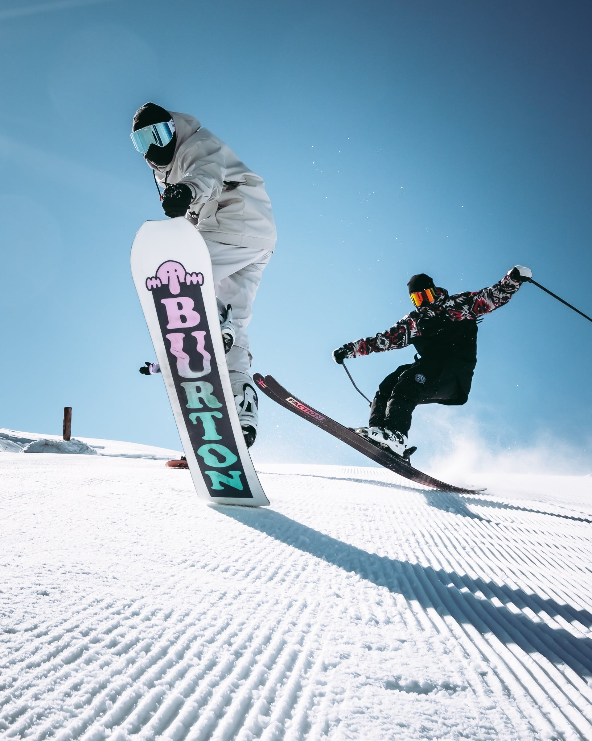 The commercialisation of snowboarding