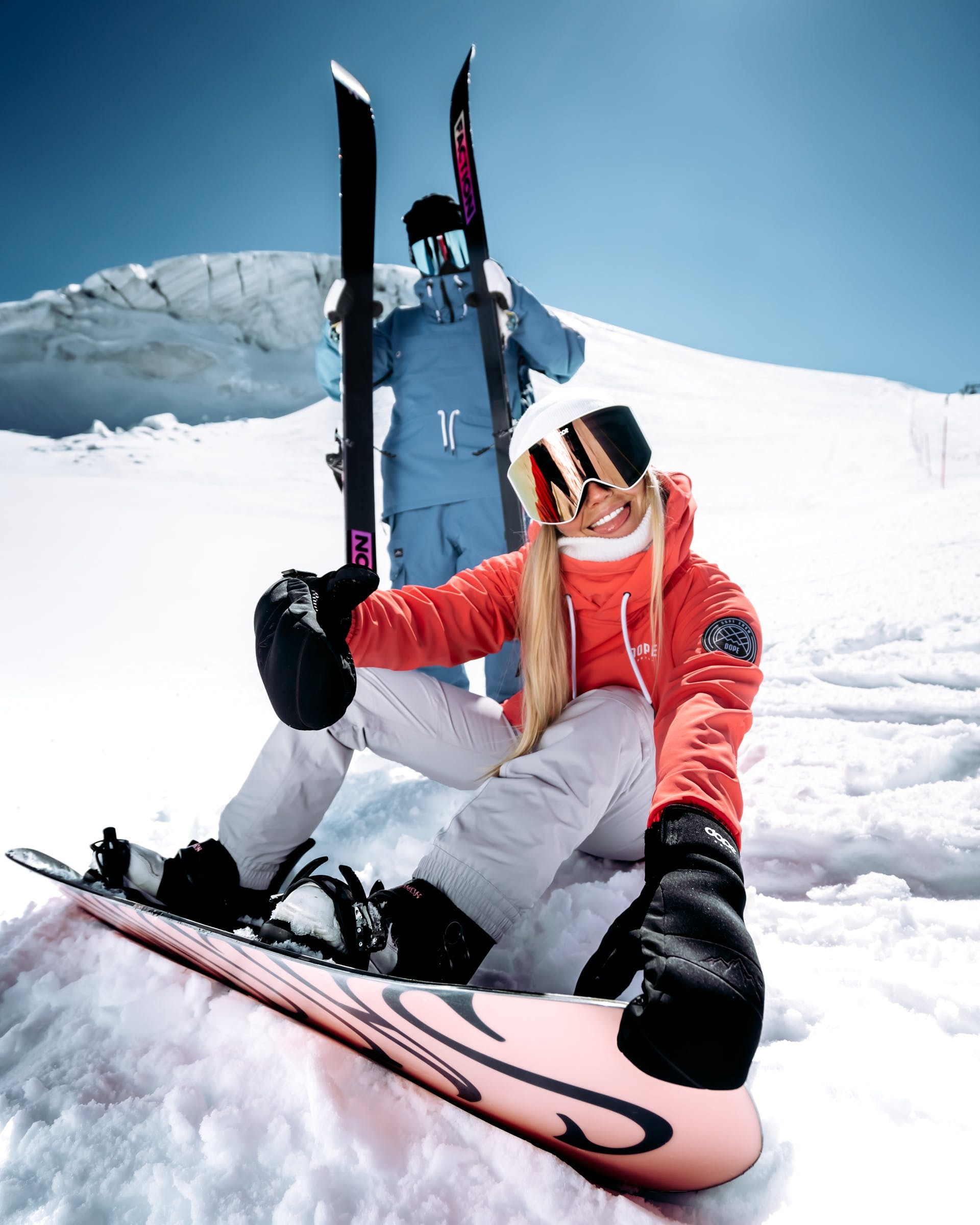 comfort of skiing