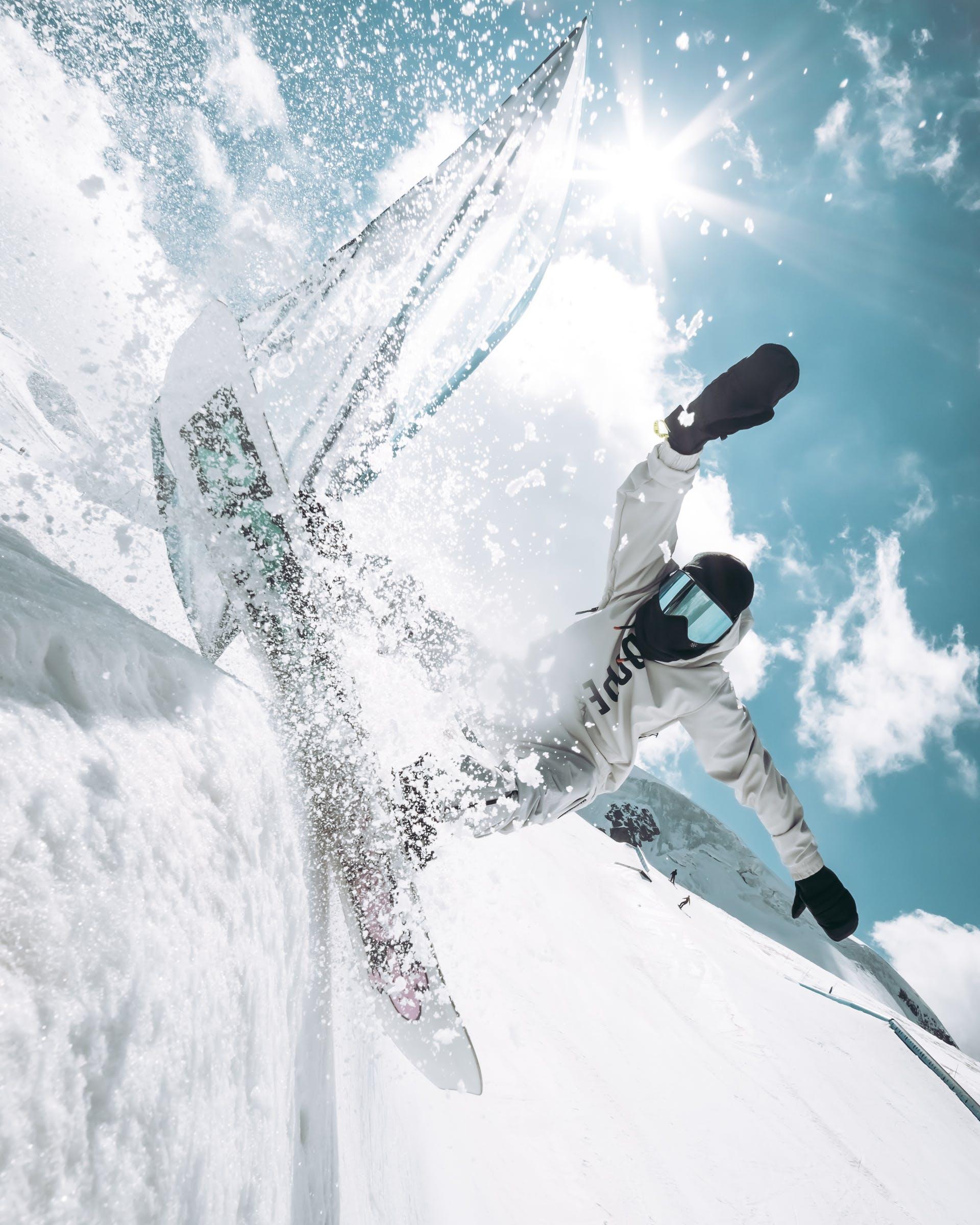 modern snowboarding
