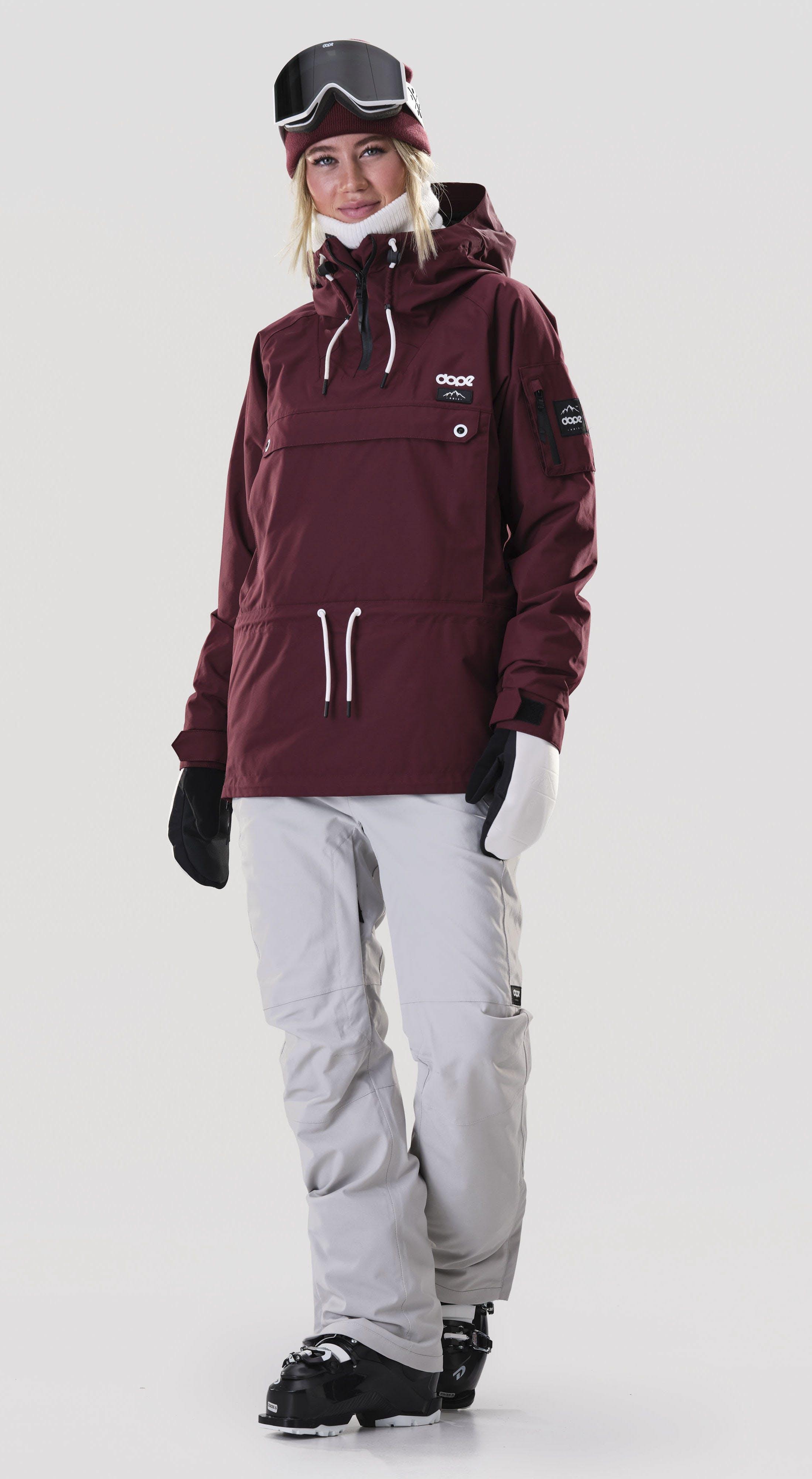 The piste skier