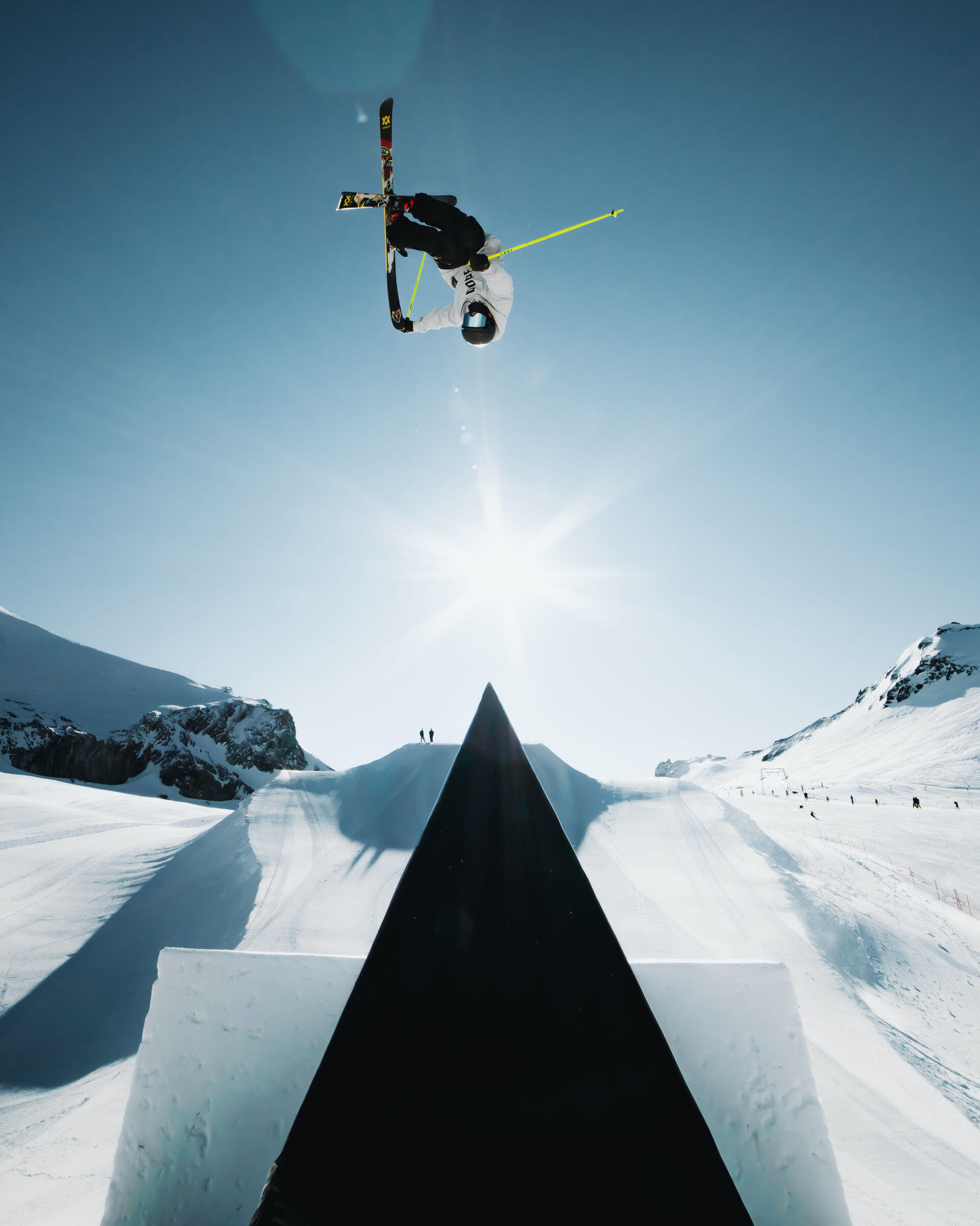How to pop in a jump on skis