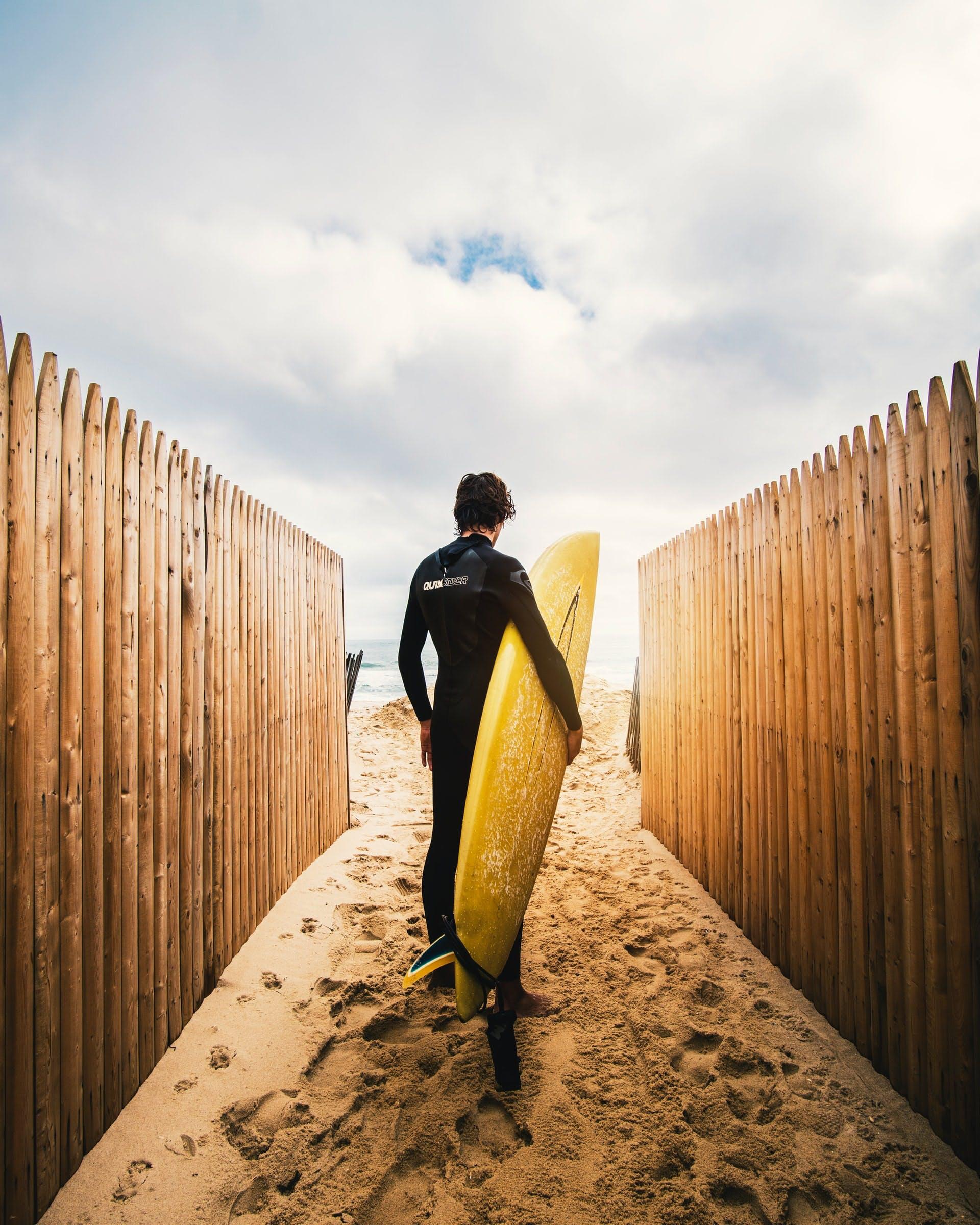 arbeiten und surfen