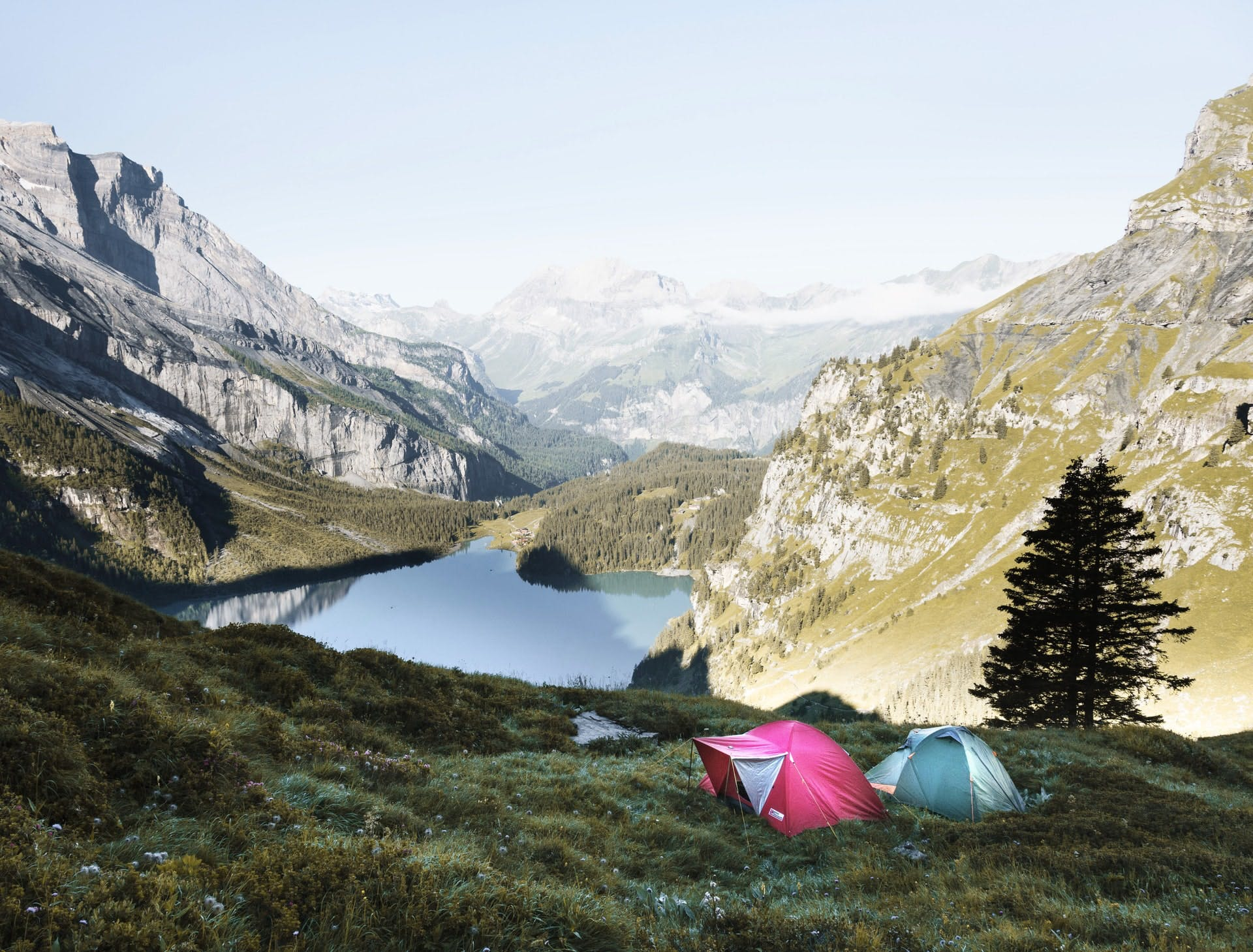 Top destinations for wild camping in Europe