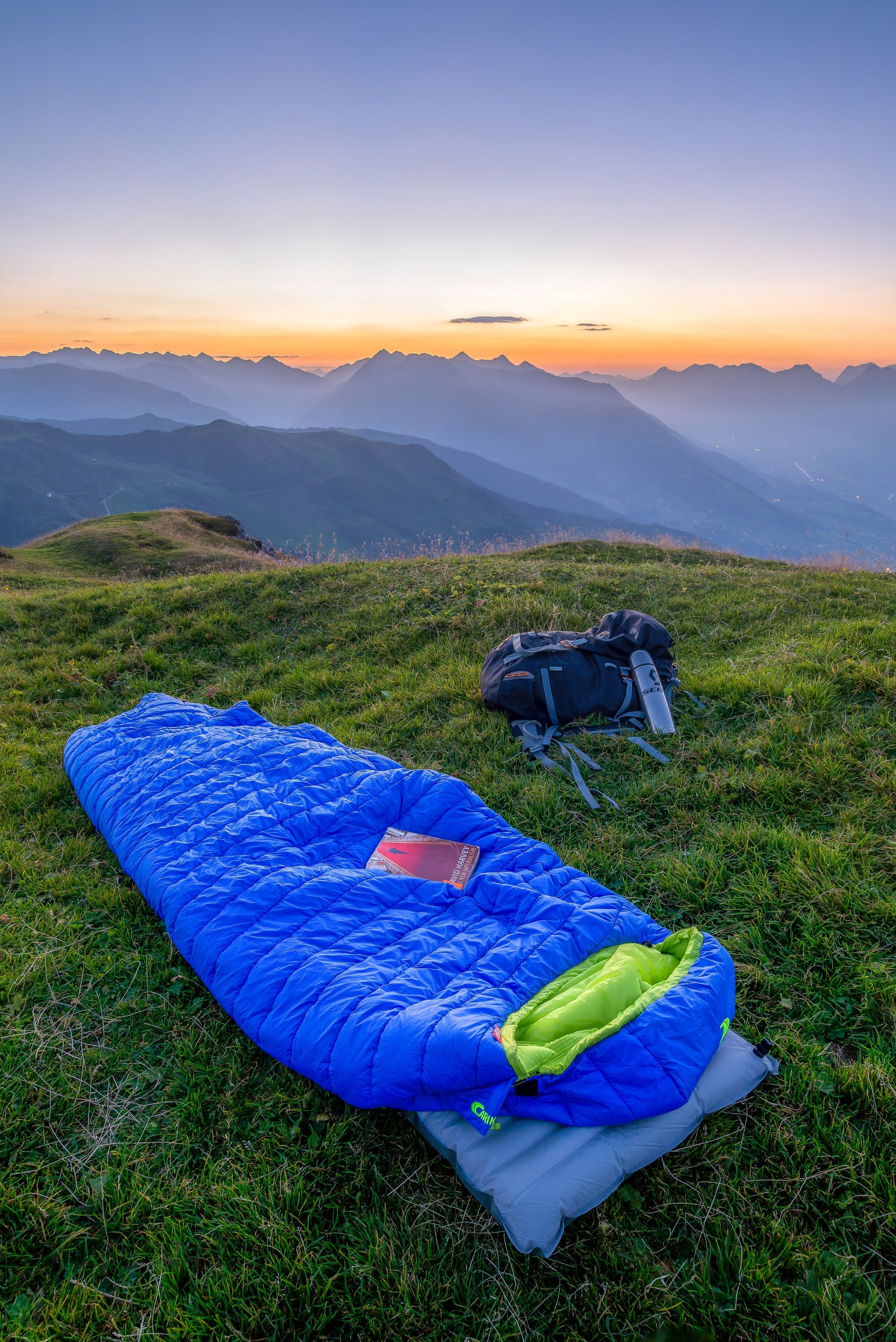 wild camping in austria