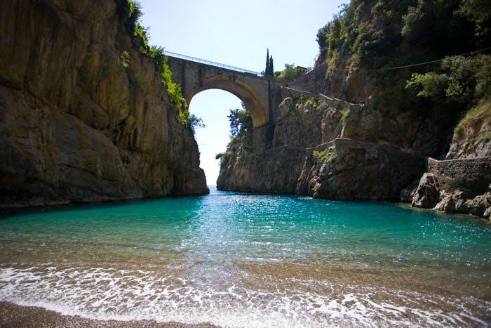 Furore Bridge Italy