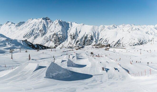 Ischgl Snowpark, Austria