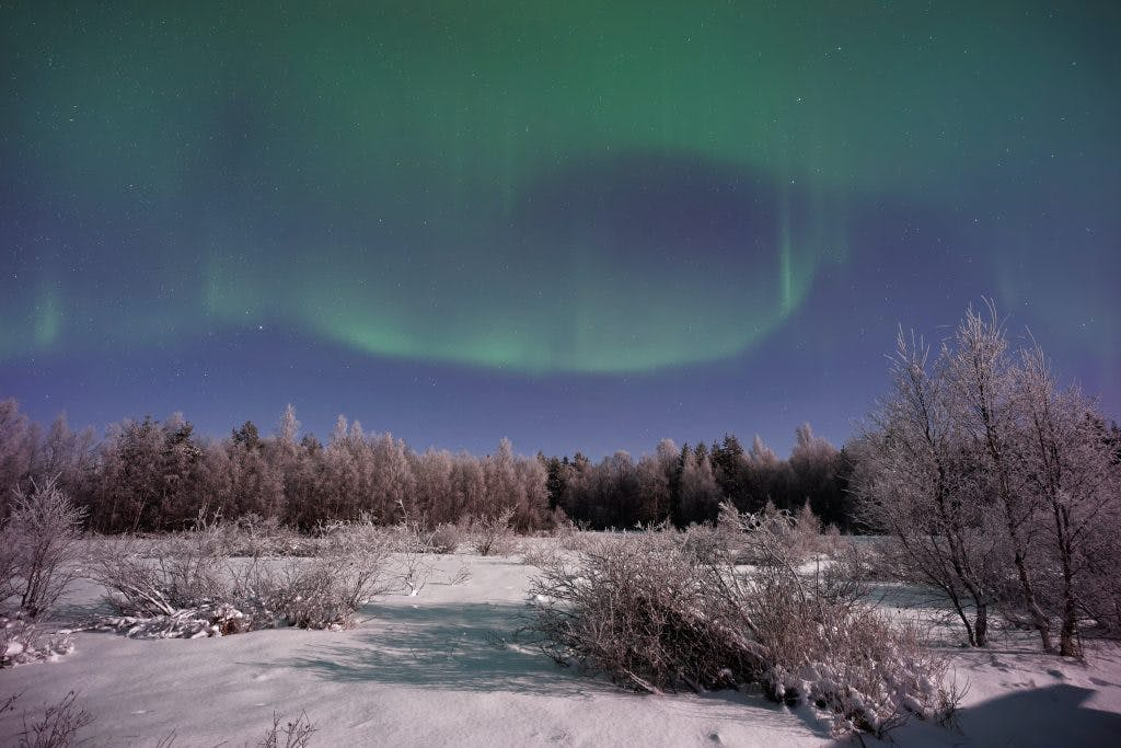 How to photograph the northern lights?