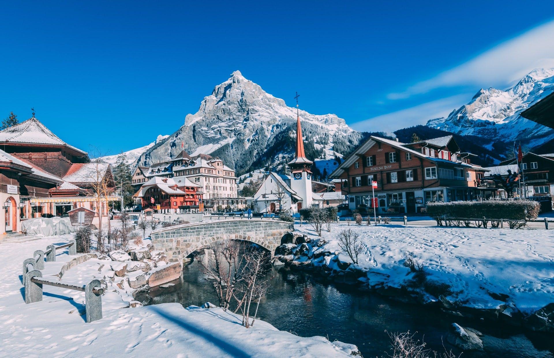 why ski or snowboard in switzerland