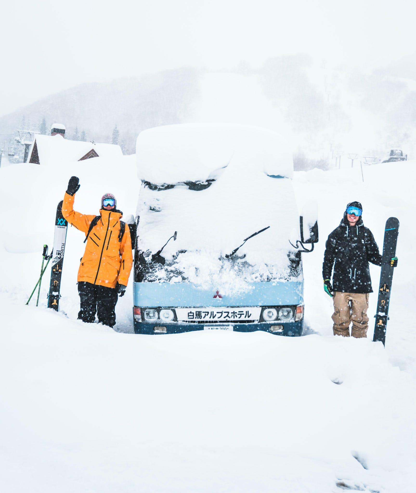 sciare in giappone