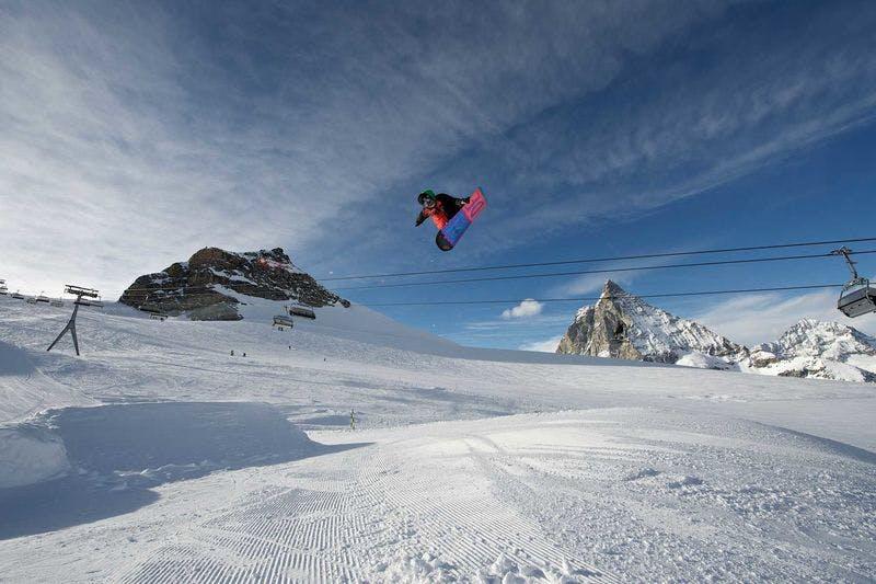 Snowpark-Zermatt