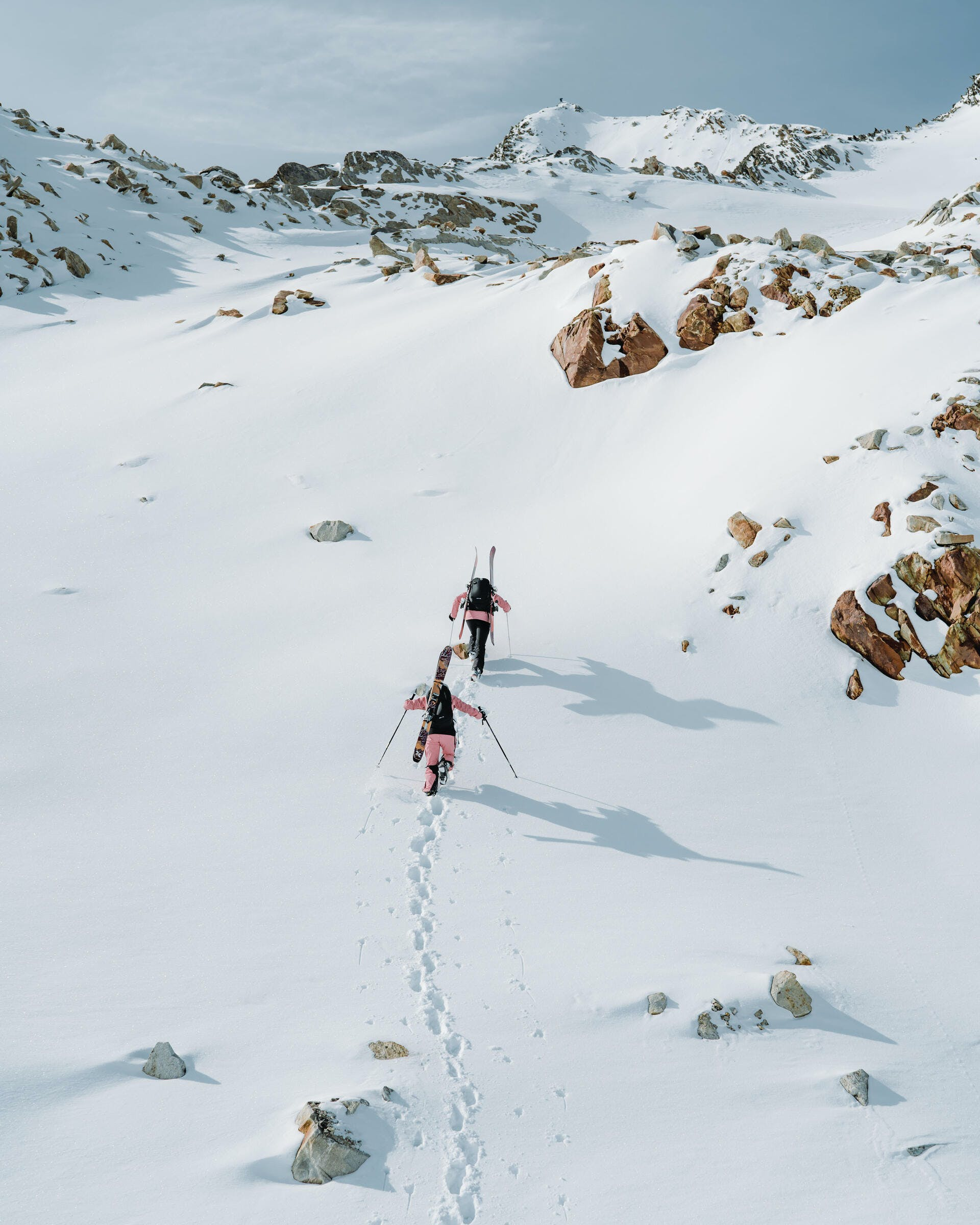 what is ski touring