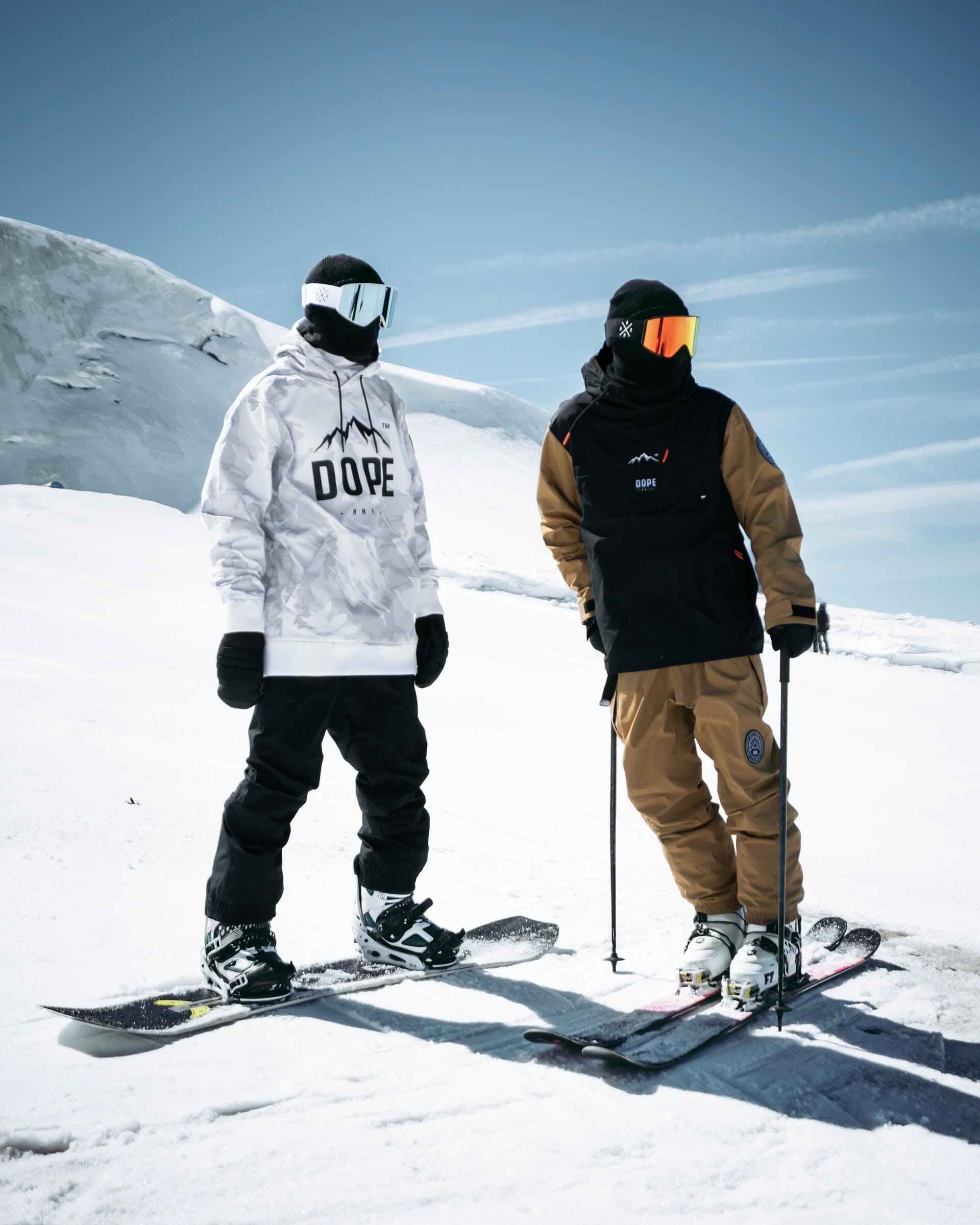 ski and snowboard instructors