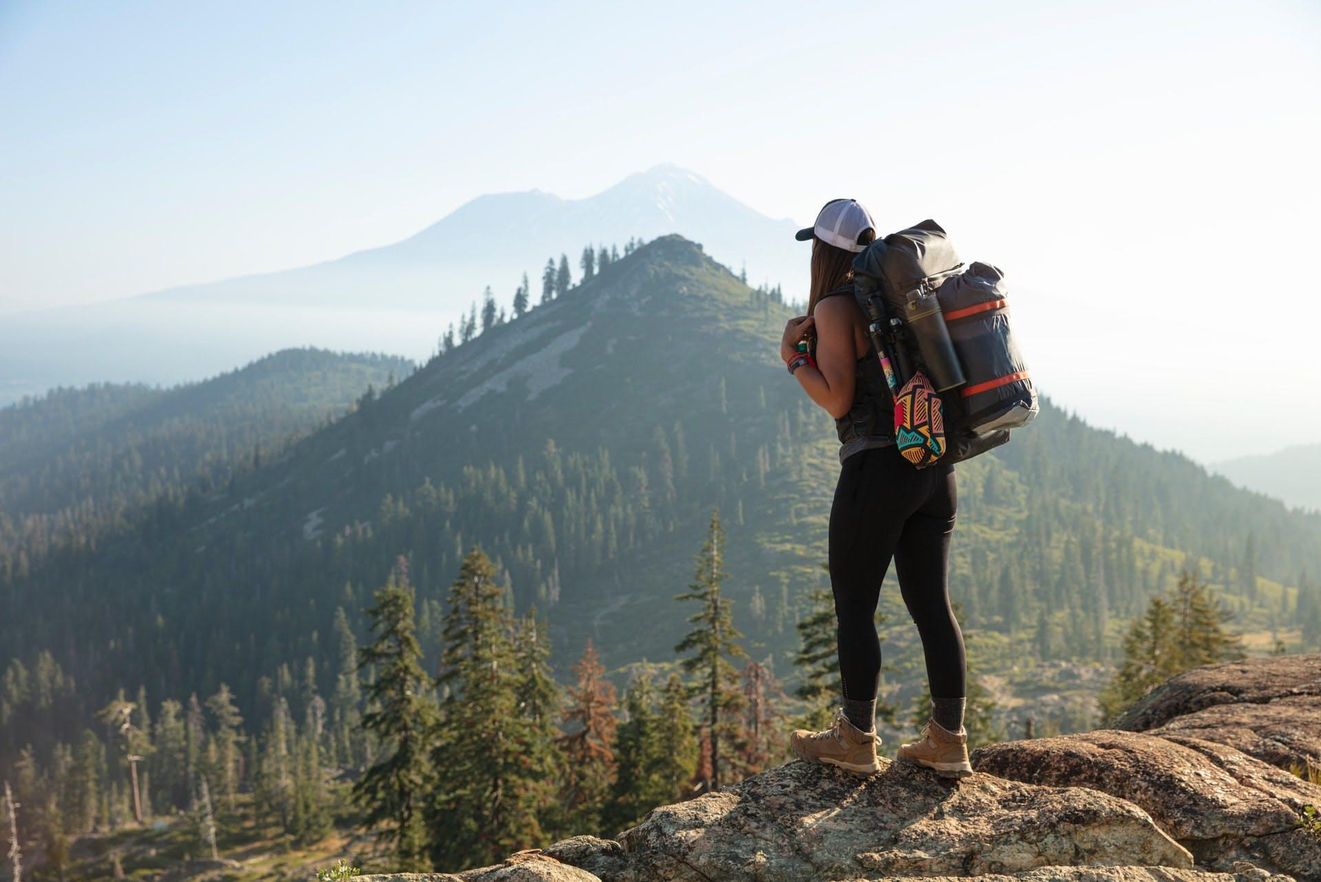 Long distance walking packing list